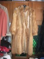 Nagyon egyedi ritka Tűzróka róka bunda kabát tökéletes az egyik legszebb szőrme molett 46 44 modern