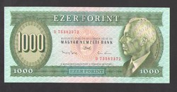 "1000 forint 1993. ""D"".  UNC!!  RITKA!!"