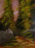 Moona - Erdei út PAÁL LÁSZLÓ festményének parafrázisa