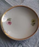 Hollóházi porcelán csésze alj