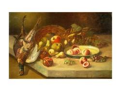 S. Willems jelzéssel : Asztali csendélet fácánnal