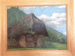 Újváry Ignác festmény