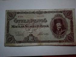 1945-ös 50 Pengő VF