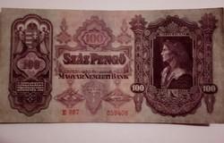 1930-as 100 Pengő VF