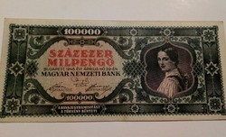 1946-os 100000 Milpengő EF+