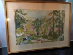 Stark Anna akvarell eladó