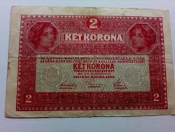1917-es 2 Korona 7000 feletti sorszám, TÖRVÉNY HIBÁS RR!