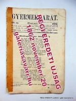 Gyermekbarát1862november20RÉGI ÚJSÁG524