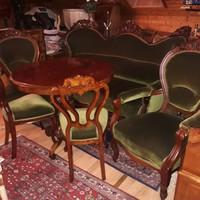 Antik barok rokoko  6 darabos szalon garnitura