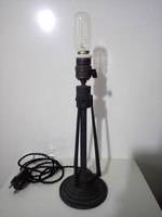 Artdeco bronz asztali lámpa