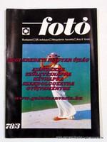 Fotó 1978 március RÉGI EREDETI MAGYAR ÚJSÁG 1423