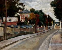 Magyar festő: Párizsi utca 1910-es évek