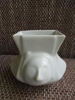 Kínai porcelán emberfejes váza