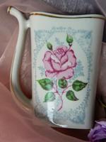 Kézzel festett Baranovka porcelán kúrapohár pohár, gyűjtői