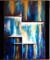 Tükör dimenziók-akril festmény