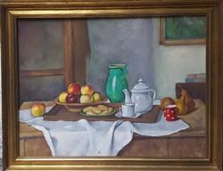 Bánovszky Miklós (1895-1995) Eredeti festménye