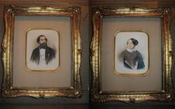 Friedrich Johann Gottlieb Lieder és Lieder junior 1847 eredeti festményei NINCS MINIMÁLÁR !!!!!
