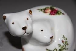 Porcelán vidrák (?) - Royal Albert Old Country Roses