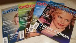 Természet Gyógyász magazin 2005-2006  év.4 db