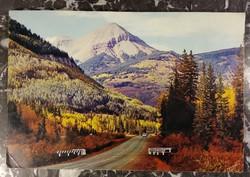 Mérnök-hegy - Silverton és Durango között (USA) - 15 x 23 cm.