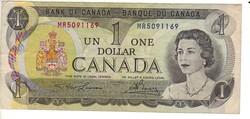 1 dollár 1973 Kanada II.
