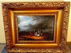 Festmény csatajelenet
