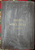 UNIKÁLIS RITKASÁG STIELER'S SCHUL ATLAS