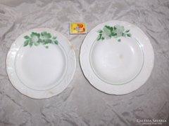 Kispesti gránit lapos és mély tányér