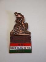 Veterán , kerékpáros, kitűző, 1964 Tour De Hongrie , Magyar