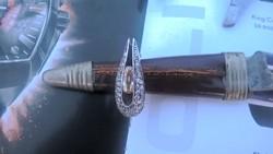 Gyönyörű ezüst gyűrű eladó