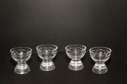 4 darab Metszett likőrös pohár