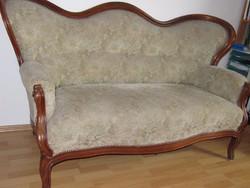 Antik barok sofa 181cm