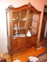 Warrings vitrines szekrény 110x180x43cm
