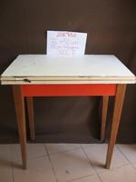 Régi, retró asztal, konyhasztal, kinyitható asztal.