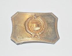 Aranyozott Kádár címeres övcsat