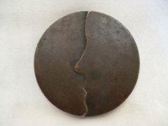 0124 D2 Michael Meszaros bronz plakett
