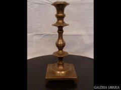 1894 G2 Antik bronz gyertyatartó 1700-as évekből