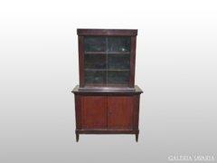 0240 Antik pohárszék konyhai vitrin