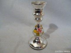 1101 G4 Antik üveg tükrös gyertyatartó