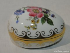 0520 Antik ROSENTHAL porcelán tojás bonbonier