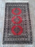 Antik pakisztáni kézi csomózású perzsa szőnyeg