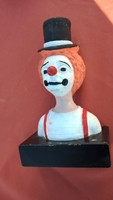 Austin Prodine vintage bohóc fej szobor