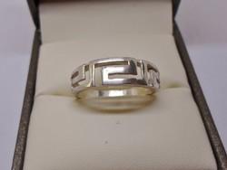 Szép régi masszív  ezüstgyűrű