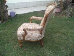 Neobarokk fotel  szép állapotban