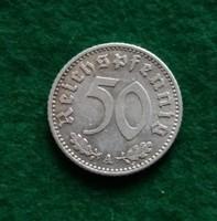Szép német 50 pfennig 1935 A.