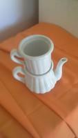 Zsolnay teaforraló régi