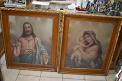 2 darab szentkép