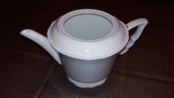 Zsolnay teás kanna fehér