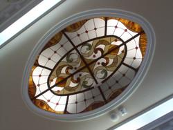 Díszüveges kupola