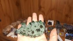 Tibeti zöld kvarc klaszer laborkő!